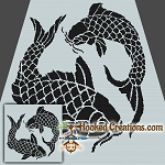 Koi SC Throw Blanket Crochet Pattern