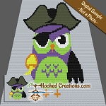 Ahoy There Hoot C2C Throw Blanket Crochet Pattern