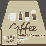 Coffee SC (Single Crochet) Throw Blanket Crochet Pattern