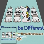 Dare to be Different SC Throw Blanket Crochet Pattern