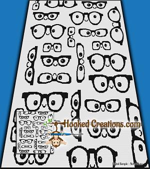 Nerd Life Sc Full Sized Blanket Crochet Pattern Pdf Download