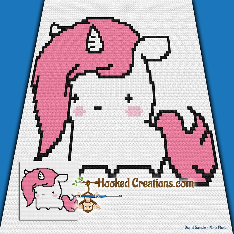 بيبي يونيكورن اميجرومي الجزء الثاني Baby unicorn amigurumi pattern ... | 800x800