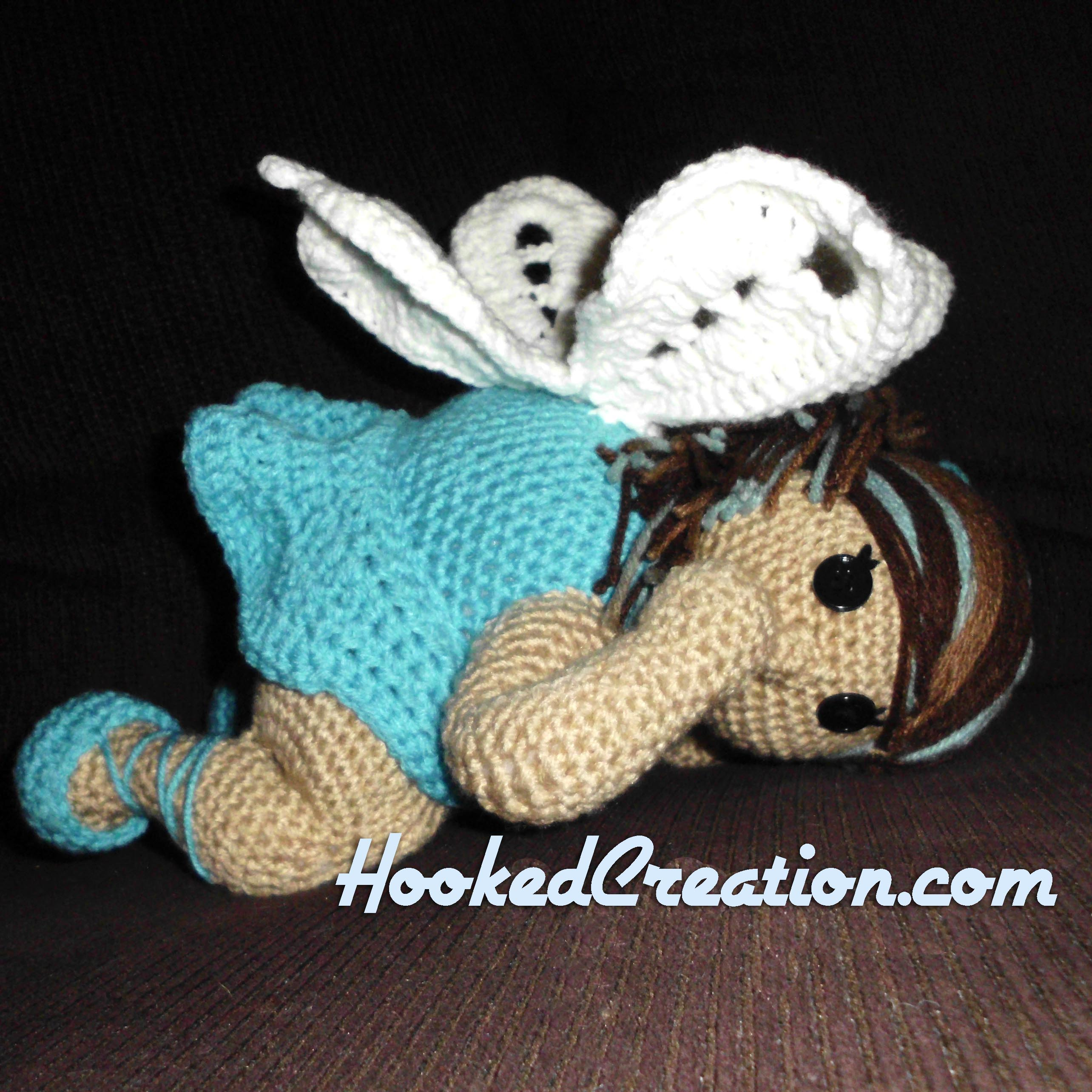 Chubby Fairy Crochet Pattern - Amigurumi - PDF Download