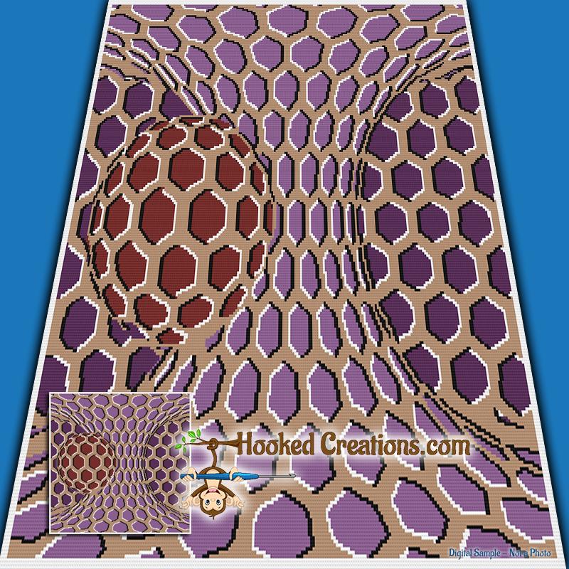 Dance Across My Blanket Sc Throw Blanket Crochet Pattern Pdf Download
