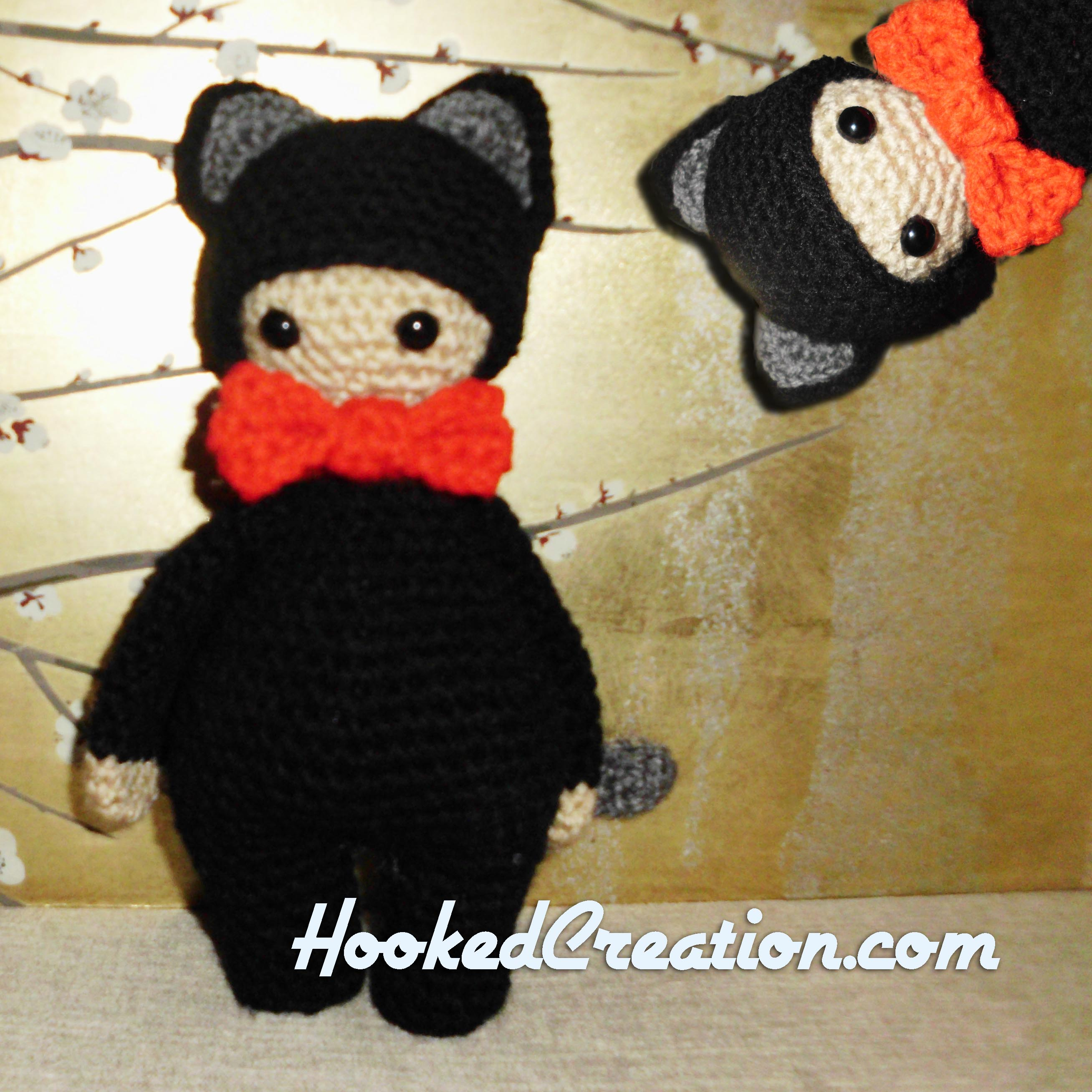 Lil Kitty Crochet Pattern - Amigurumi - PDF Download