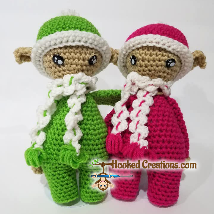 Amigurumi The Christmas Elf Free Pattern - amigurumi.myeatbook.com | 720x720