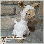 Llama Crochet Pattern - Amigurumi - PDF Download