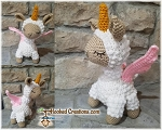 Llamacorn Crochet Pattern - Amigurumi - PDF Download
