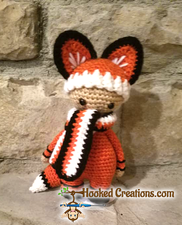 Lil Fox Crochet Pattern - Amigurumi - PDF Download