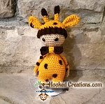 Lil Giraffe Crochet Pattern - Amigurumi - PDF Download