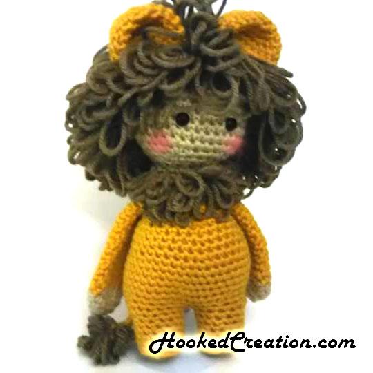 Free Amigurumi Crochet Pattern for Laurence the Lion ⋆ Crochet Kingdom | 540x540
