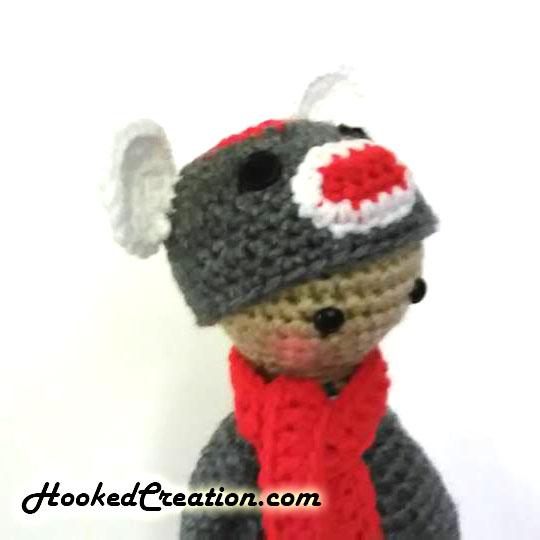 Lil Sock Monkey Lil D Dolls In Costumes Amigurumi Crochet