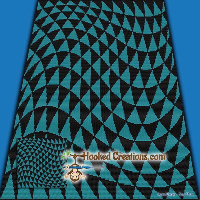 Optical Illusion Sc Single Crochet Bundle Crochet Patterns