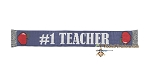 #1 Teacher SC (Single Crochet) Scarf Graphghan Crochet Pattern - PDF Download