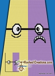 2 Sides of Minions C2C (Corner to Corner) Twin Sized Blanket Graphghan Crochet Pattern - PDF Download