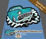 55 Chevy SC (Single Crochet) Throw Blanket Graphghan Crochet Pattern - PDF Download