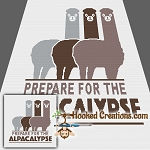 Alpacalypse SC (Single Crochet) Throw Blanket Graphghan Crochet Pattern
