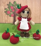 Amelia Apple - Amigurumi - Crochet Pattern - PDF Download