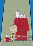 Charlie Brown & Snoopy SC (Single Crochet) Twin Size Blanket Graphghan Crochet Pattern - PDF Download