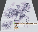 Flight of the Mockingjay SC (Single Crochet) Throw Blanket Graphghan Crochet Pattern - PDF Download