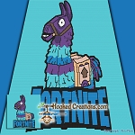 Fortnite Llama SC (Single Crochet) Throw Blanket Graphghan Crochet Pattern - PDF Download