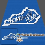 Home Sweet Home Kentucky SC (Single Crochet) Throw Blanket Graphghan Crochet Pattern - PDF Download