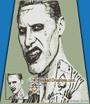 Joker SC (Single Crochet) Throw Blanket Graphghan Crochet Pattern - PDF Download