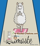 Llamaste SC (Single Crochet) Baby Blanket Graphghan Crochet Pattern - PDF Download