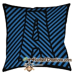 OPTICAL ALPHABET – A SC (Single Crochet) Throw Pillow Graphghan Crochet Pattern