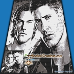 Supernatural SC (Single Crochet) King Sized Blanket Graphghan Crochet Pattern - PDF Download