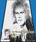 The Goblin King SC (Single Crochet) Throw Blanket Graphghan Crochet Pattern - PDF Download