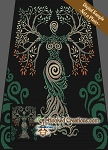 Tree of Life SC (Single Crochet) Twin Blanket Graphghan Crochet Pattern - PDF Download