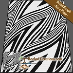 Twisted Zebra SC (Single Crochet) Graphghan Crochet Pattern - PDF Download
