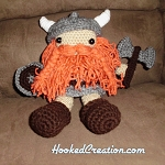 Viking Crochet Pattern - Amigurumi - PDF Download