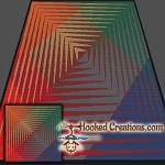 Wild Eye SC (Single Crochet) Throw Blanket Graphghan Crochet Pattern - PDF Download