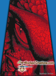 Another Dragon's Eye SC (Single Crochet) Twin Blanket Graphghan Crochet Pattern - PDF Download