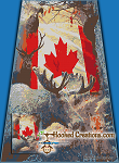 Canadian Wildlife SC (Single Crochet) Twin Size Blanket Graphghan Crochet Pattern - PDF Download