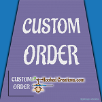 Custom SC (Single Crochet) - made from a simple illustration or cartoon - NO PHOTOGRAPHS Graphghan Crochet Pattern - PDF Download