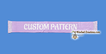 Custom SC (Single Crochet) - made from a simple illustration or cartoon - NO PHOTOGRAPHS - Scarf Graphghan Crochet Pattern - PDF Download