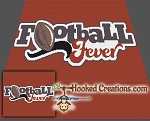 Football Fever SC (Single Crochet) Throw Blanket Graphghan Crochet Pattern