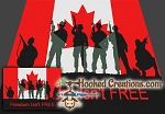 Freedom isn't Free - Canada SC (Single Crochet) Twin Blanket Graphghan Crochet Pattern - PDF Download