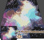Galaxy SC (Single Crochet) King Blanket Graphghan Crochet Pattern - PDF Download