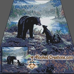 Goodnight Kisses SC (Single Crochet) Throw Blanket Graphghan Crochet Pattern - PDF Download