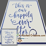 Happily Ever After SC (Single Crochet) Throw Blanket Graphghan Crochet Pattern