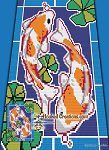Koi Pond C2C (Corner to corner) Throw Blanket Graphghan Crochet Pattern - PDF Download