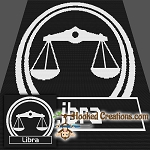 Libra SC (Single Crochet) Throw Sized Blanket Graphghan Crochet Pattern