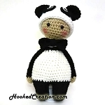 Lil Panda Crochet Pattern - Amigurumi - PDF Download