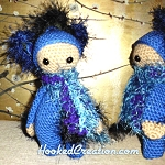 Lil Peacock Crochet Pattern - Amigurumi - PDF Download