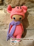 Lil Piggy Crochet Pattern - Amigurumi - PDF Download