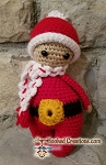 Lil Santa Crochet Pattern - Amigurumi - PDF Download